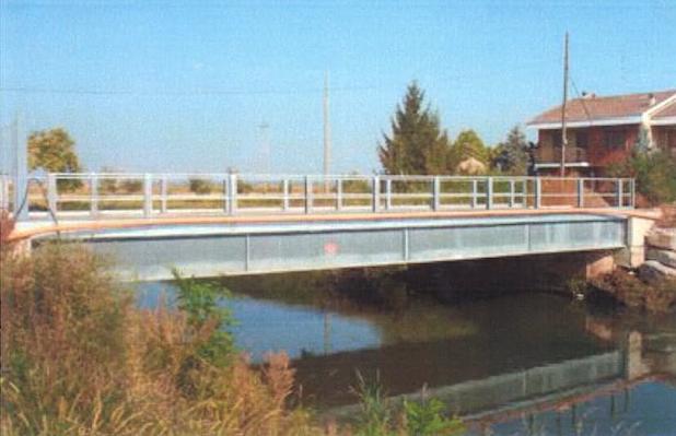 Ponte stradale in acciaio