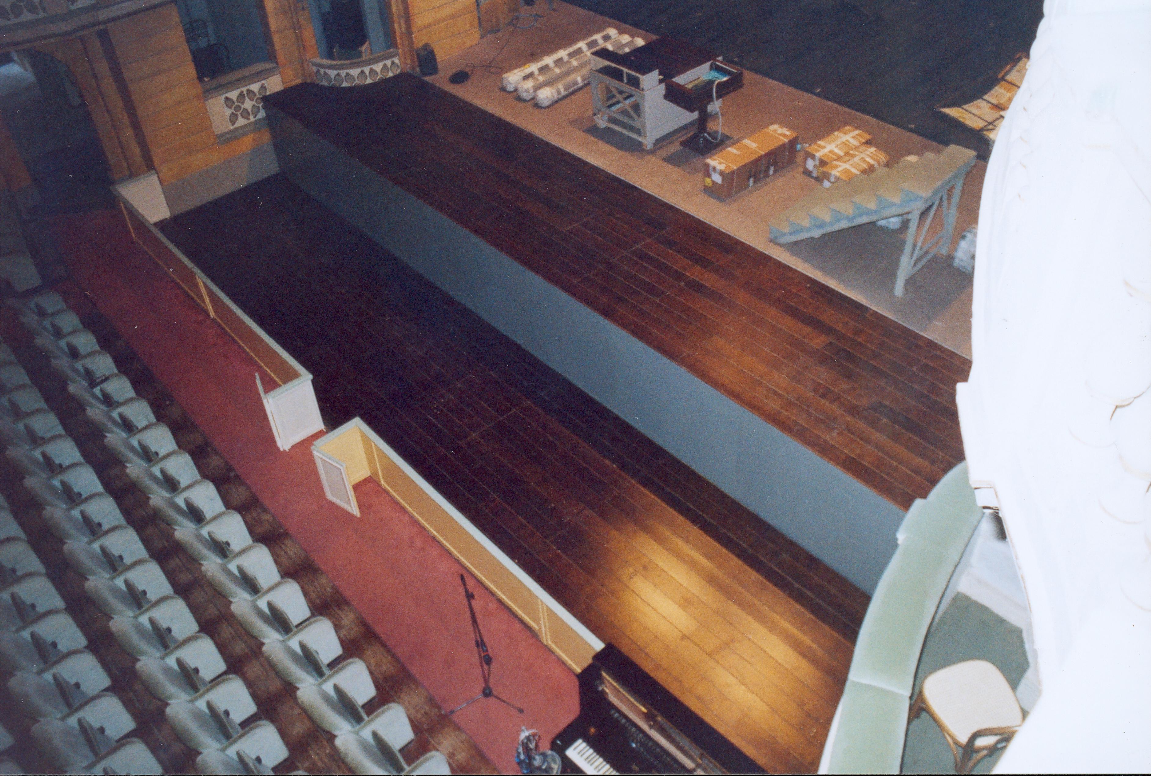 Golfo mistico movimentato con due piattaforme. Opera realizzata presso il Teatro Fraschini di Pavia